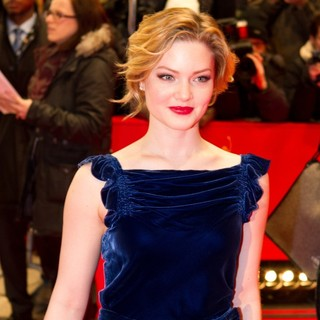 Holliday Grainger in 62nd Annual Berlin International Film Festival - Bel Ami Premiere Red Carpet Arrivals