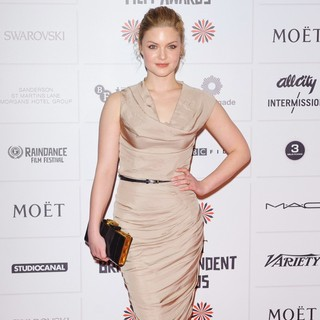 Holliday Grainger in British Independent Film Awards 2012 - Arrivals