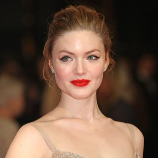 Holliday Grainger in Orange British Academy Film Awards 2012 - Arrivals - holliday-grainger-orange-british-academy-film-awards-2012-01