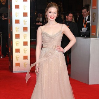 Holliday Grainger in Orange British Academy Film Awards 2012 - Arrivals