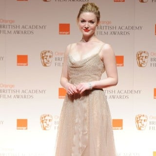 Holliday Grainger in Orange British Academy Film Awards 2012 - Press Room