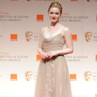 Holliday Grainger in Orange British Academy Film Awards 2012 - Press Room - holliday-grainger-orange-british-academy-film-awards-2012-press-room-01