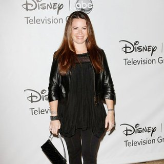 Holly Marie Combs in 2011 Disney ABC Television Group Host Summer Press Tour