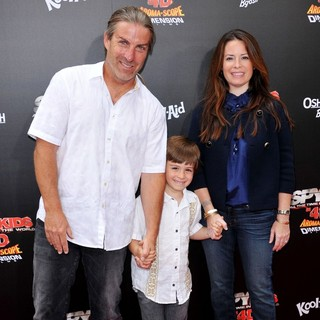 Holly Marie Combs in Spy Kids 4 All the Time in the World Los Angeles Premiere