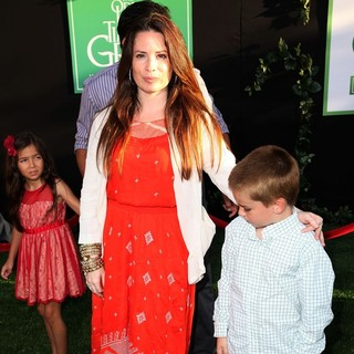 Holly Marie Combs in The World Premiere of The Odd Life of Timothy Green - Arrivals