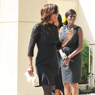 Holly Robinson Peete in The Funeral of Michael Clarke Duncan