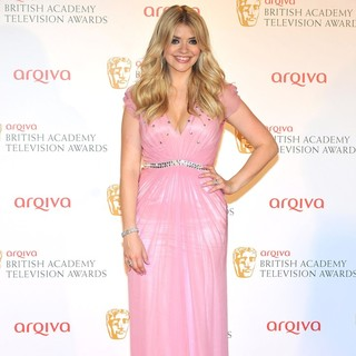 Holly Willoughby in The 2012 Arqiva British Academy Television Awards - Winners Board