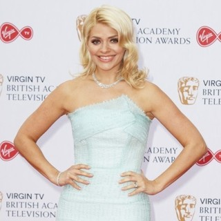 Holly Willoughby in 2017 The Virgin TV British Academy Television Awards - Arrivals