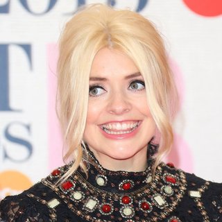 Holly Willoughby in The Brit Awards 2015 - Arrivals