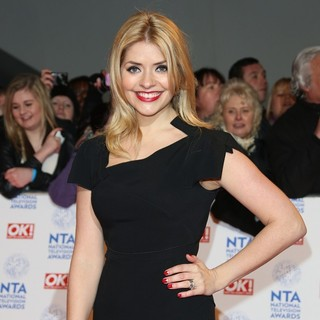 Holly Willoughby in National Television Awards 2013 - Arrivals