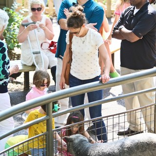 Katie Holmes and Suri Cruise Spend The Afternoon at The Central Park Zoo - holmes-cruise-at-central-park-zoo-20