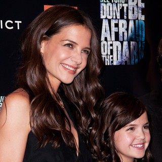 Katie Holmes, Bailee Madison in New York Premiere of Don't Be Afraid of the Dark - Arrivals