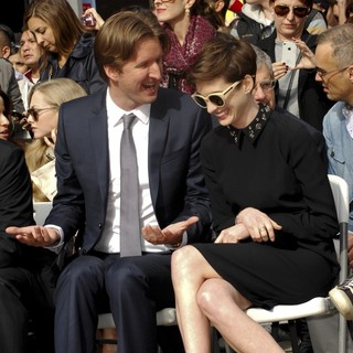 Tom Hooper, Anne Hathaway in Hugh Jackman Is Honoured with A Hollywood Star on The Hollywood Walk of Fame