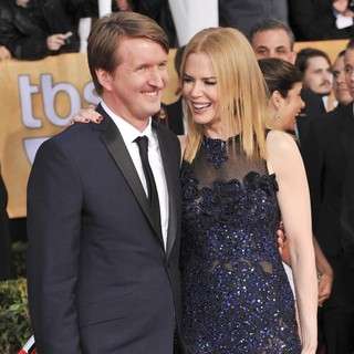 Tom Hooper, Nicole Kidman in 19th Annual Screen Actors Guild Awards - Arrivals