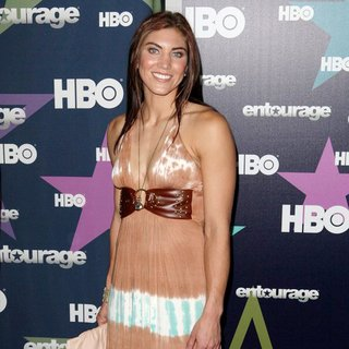 Hope Solo in Final Season Premiere of HBO's Entourage