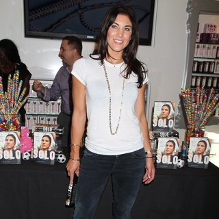 Hope Solo in Hope Solo Promote Her book Solo: A Memoir of Hope