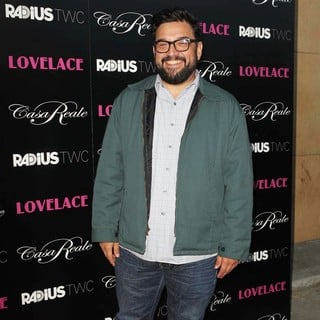 Horatio Sanz in Lovelace Los Angeles Premiere