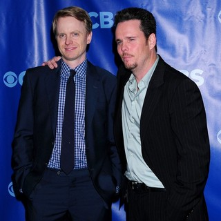 David Hornsby, Kevin Dillon in 2011 CBS Upfront