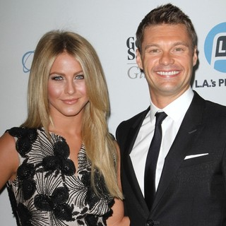 Julianne Hough, Ryan Seacrest in Promise 2011 Gala - Arrivals