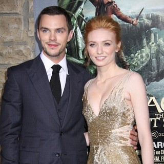 Nicholas Hoult, Eleanor Tomlinson in Premiere of Jack the Giant Slayer