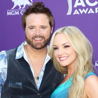 Randy Houser, Jessa Lee Yantz in 48th Annual ACM Awards - Arrivals
