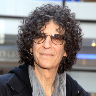 Howard Stern in America's Got Talent - Judges Arrivals