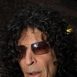 Howard Stern in Celebrities at The Ed Sullivan Theater to Appear on The Late Show with David Letterman
