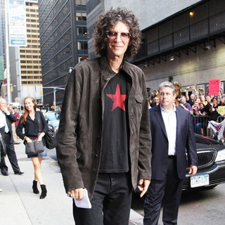 Howard Stern in Howard Stern at The Ed Sullivan Theater for The Late Show with David Letterman
