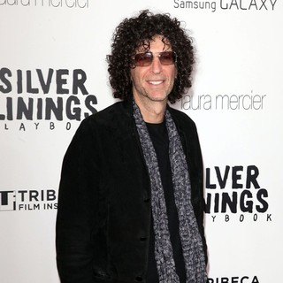 Howard Stern in Tribeca Teaches Benefit: Silver Linings Playbook Premiere