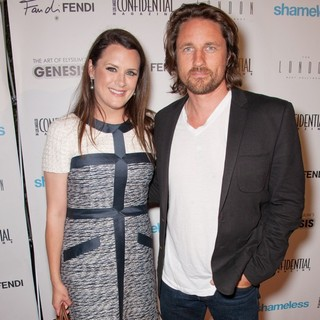 Jennifer Howell, Martin Henderson in Los Angeles Confidential Magazines's Pre-Emmy Party