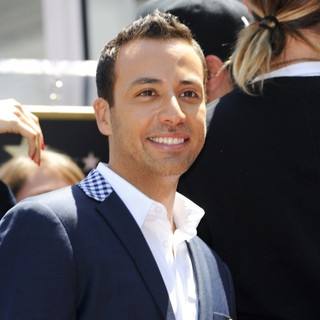 Howie Dorough, Backstreet Boys in Backstreet Boys Are Honoured with A Hollywood Star on The Hollywood Walk of Fame