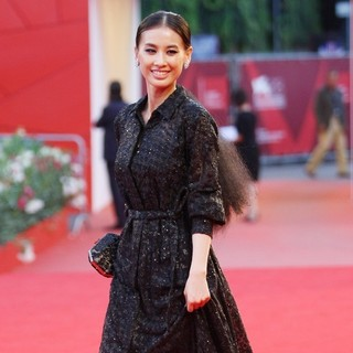 Huang Shengyi in The 68th Venice Film Festival - Day 4 - Contagion - Premiere- Arrivals