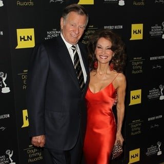 Helmut Huber, Susan Lucci in 39th Daytime Emmy Awards - Arrivals