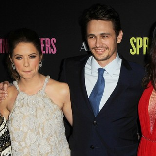 Vanessa Hudgens, Ashley Benson, James Franco, Selena Gomez in The Los Angeles Premiere of Spring Breakers - Arrivals