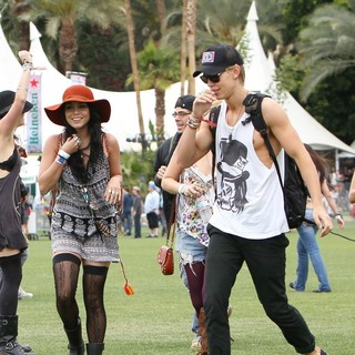 Vanessa Hudgens - Celebrities at The 2012 Coachella Valley Music and Arts Festival - Day 1