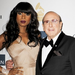Jennifer Hudson, Clive Davis in Clive Davis and The Recording Academy's 2013 Pre-Grammy Gala and Salute to Industry Icons