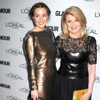 Christina Huffington, Arianna Huffington in Glamour Magazine's 23rd Annual Women of The Year Gala - Arrivals