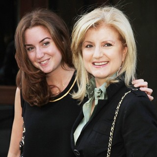 Christina Huffington, Arianna Huffington in Special Screening of The Debt - Outside Arrivals