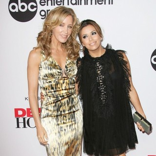 Felicity Huffman, Eva Longoria in Desperate Housewives Final Season Kick-Off Party