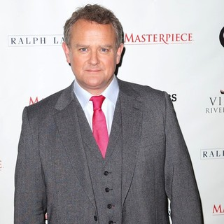 Hugh Bonneville in Downton Abbey Season 3 Photocall