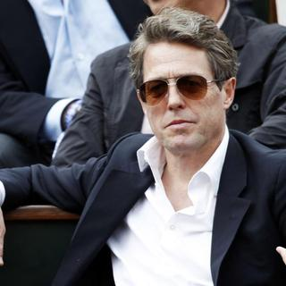 Hugh Grant - Roland Garros - The 2015 French Open
