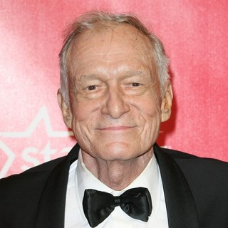 Hugh Hefner in 2012 MusiCares Person of The Year Gala Honoring Paul McCartney