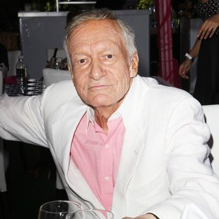 Hugh Hefner in Playboy Magazine's 2013 Playmate of The Year Ceremony