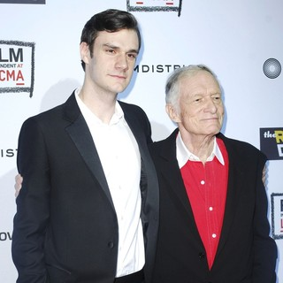 Hugh Hefner in The Rum Diary Premiere - Arrivals