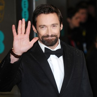 Hugh Jackman in The 2013 EE British Academy Film Awards - Arrivals