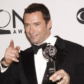 Hugh Jackman in The 66th Annual Tony Awards - Press Room