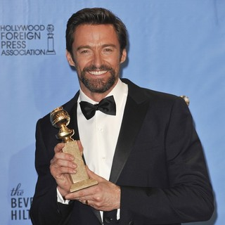 Hugh Jackman in 70th Annual Golden Globe Awards - Press Room