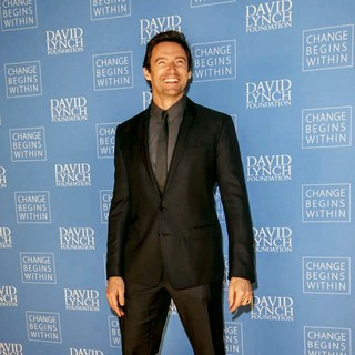 Hugh Jackman in David Lynch Foundation Gala