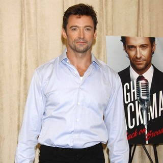 Hugh Jackman in Hugh Jackman on Broadway Press Event