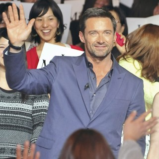 Hugh Jackman in The Japan Premiere of Les Miserables